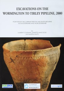 Excavations on the Wormington to Tirley Pipeline, 2000