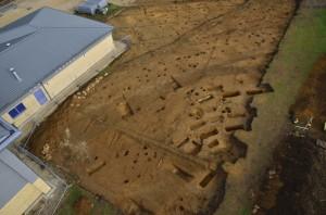Cotswold School excavation site