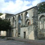 The surviving church from Greyfriars Friary