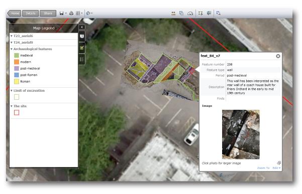 Gloscat Community Dig Interactive Map