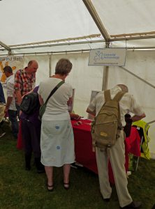 Cotswold Archaeology stand at Bristol Brilliant Archaeology day