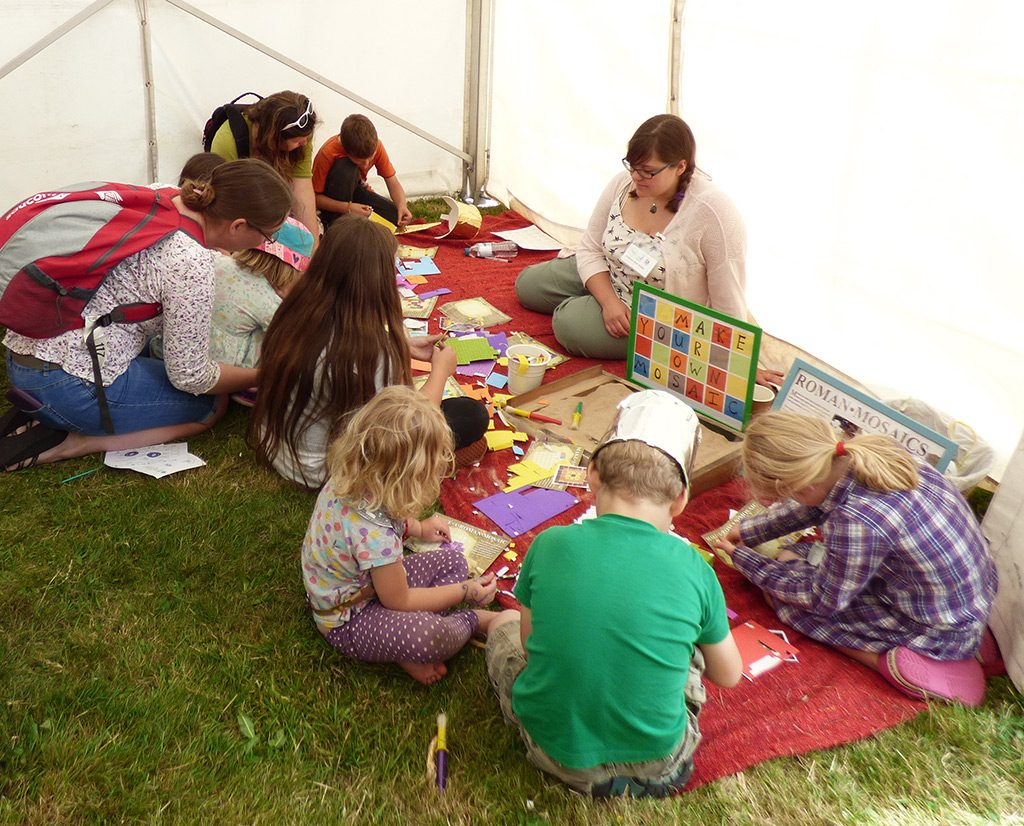 Make your own Roman mosaic - with Katie Marsden from Cotswold archaeology