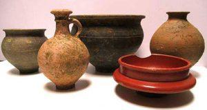 Towcester pottery vessels