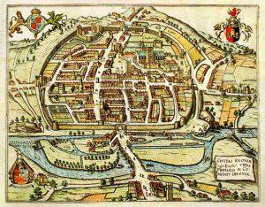 Civitas-Exoniae-medieval-Exeter