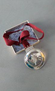 The Society's presidential medal