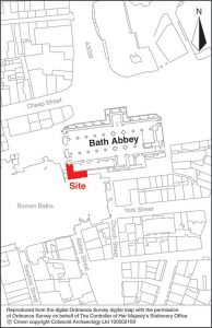 Bath Abbey Location plan