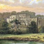 Berkeley Castle, 19th-century oil painting