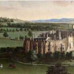 Berkeley Castle, 18th-century oil painting