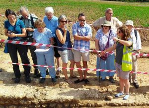 A site tour during the open day (Saturday 25th August)