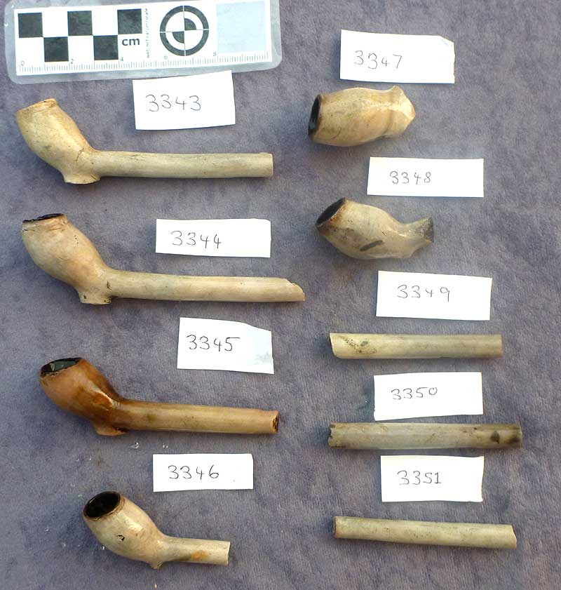 Clay tobacco pipes – was one of these responsible for the explosion?