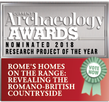 Archaeology Awards nominee badge for Roman Rural settlement project