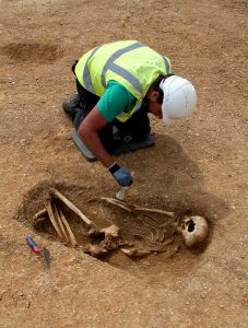 Bronze Age inhumation grave