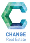 Change real estate logo