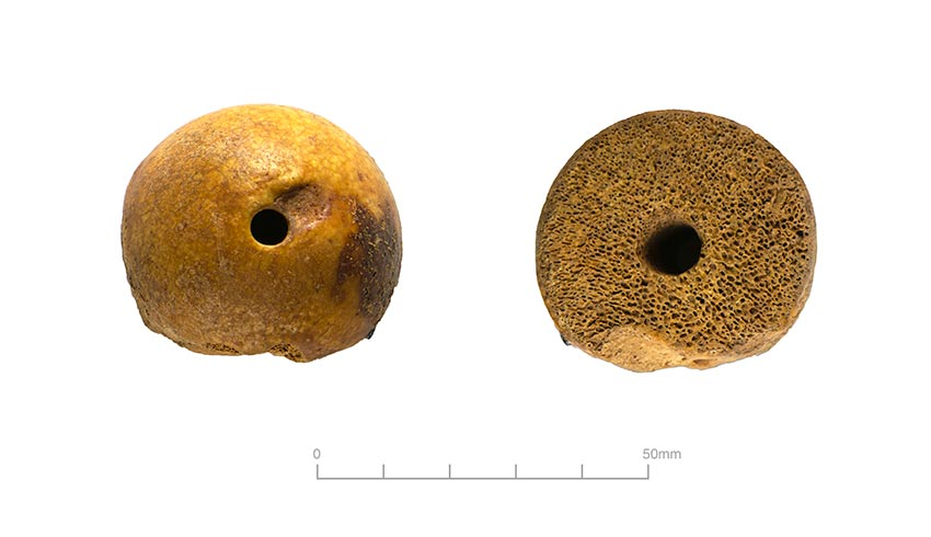Spindle Whorl two views