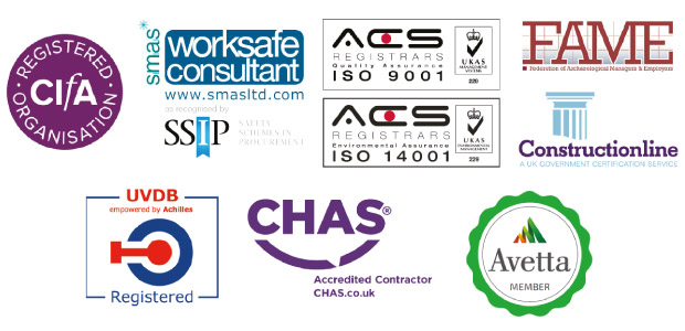 accreditation logos -link to the accreditation page
