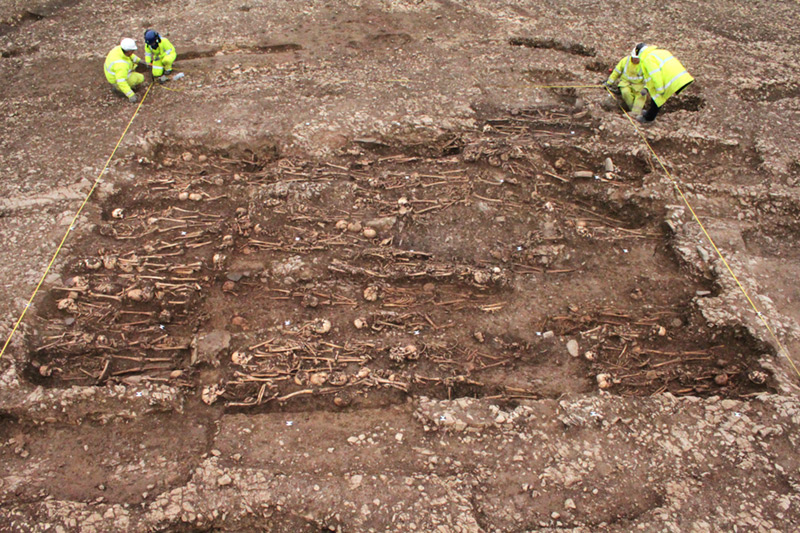 An unexpected early medieval burial ground – the final resting place of over 300 of the area's local inhabitants