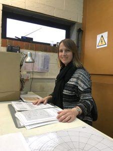 volunteer Sarah