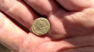 Coin of Constantinus II