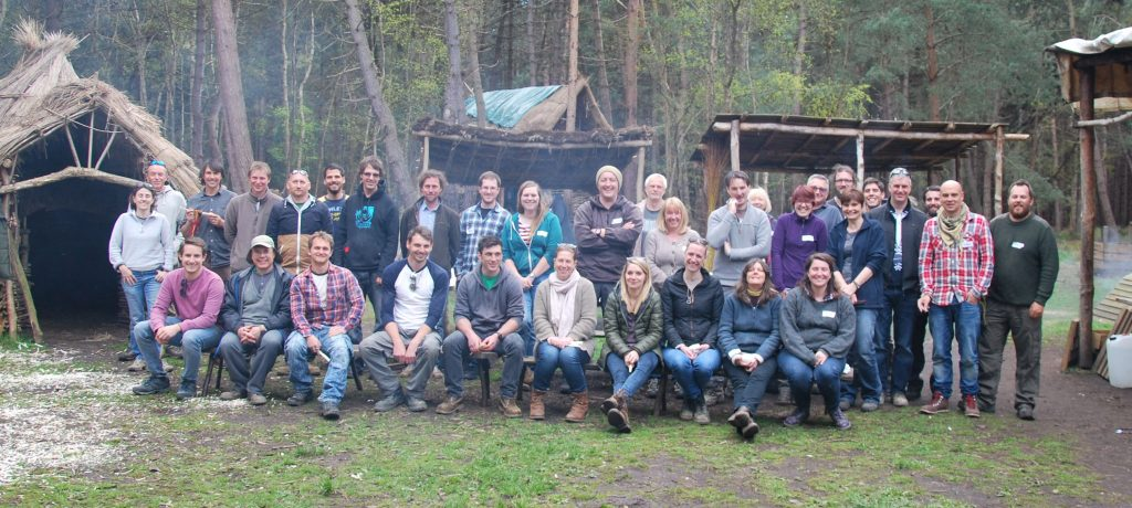 The Suffolk Archaeology team at the Hands on Heritage Centre Tunstall May 2016