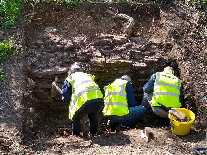 Linford Manor Park excavations