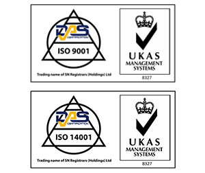 ISO accreditation logos