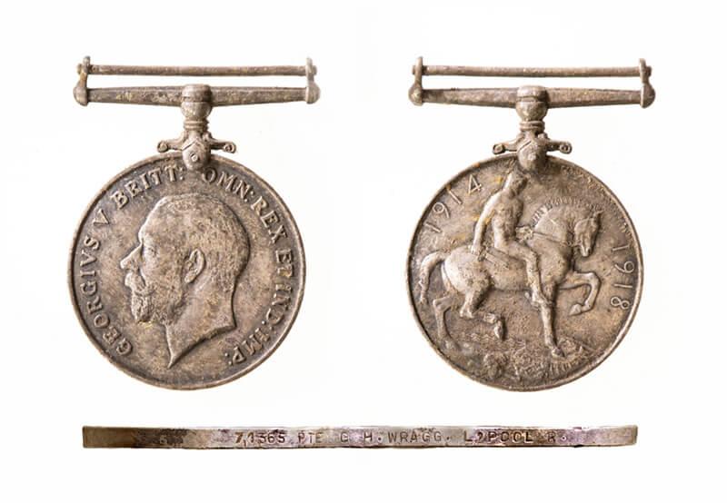 WW1 silver medal