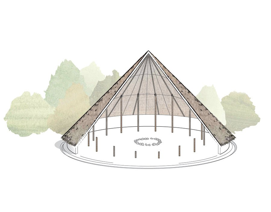 roundhouse reconstruction