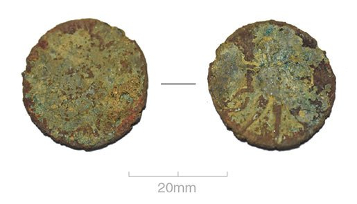 Claudian copy coin
