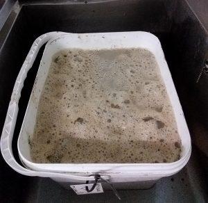 Sample tub