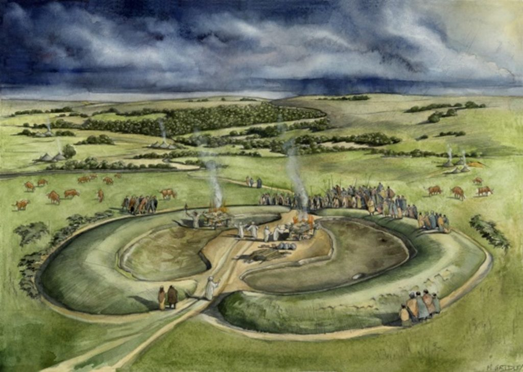 The henge during the Early Roman period