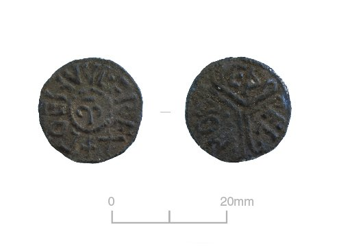 Fig. 11 coin of Coenwulf of Mercia (both faces)