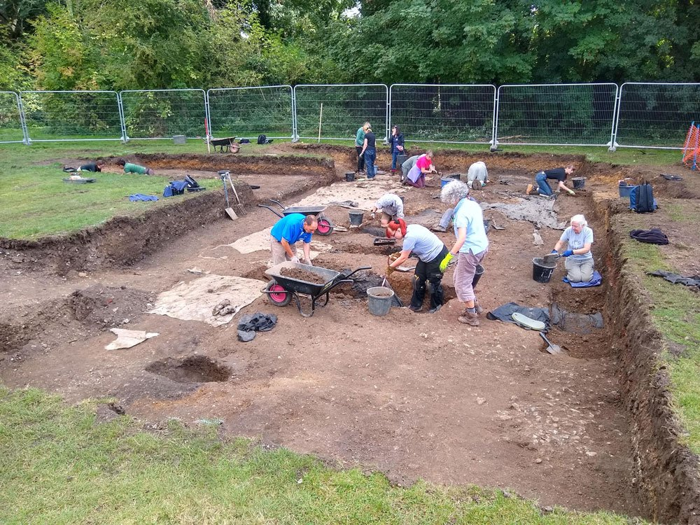 The 2021 re-excavation of Trench 6